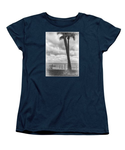 Ocean View Women's T-Shirt (Standard Cut) by Arlene Carmel