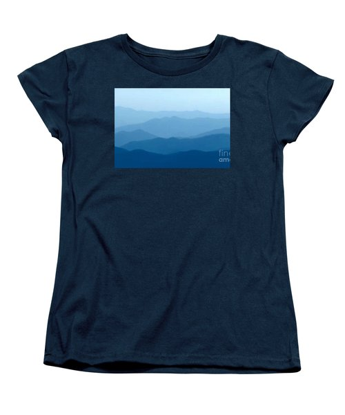 Women's T-Shirt (Standard Cut) featuring the digital art Ocean Waves by Anthony Fishburne