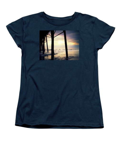 Women's T-Shirt (Standard Cut) featuring the photograph Oceanside - Late Afternoon by Glenn McCarthy
