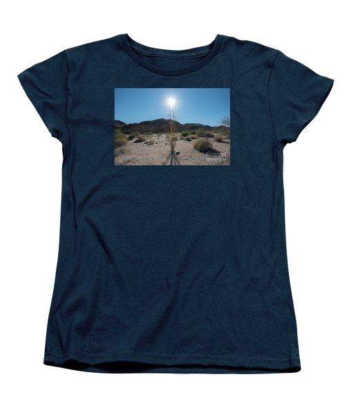 Ocotillo Glow Women's T-Shirt (Standard Cut) by Robert Loe