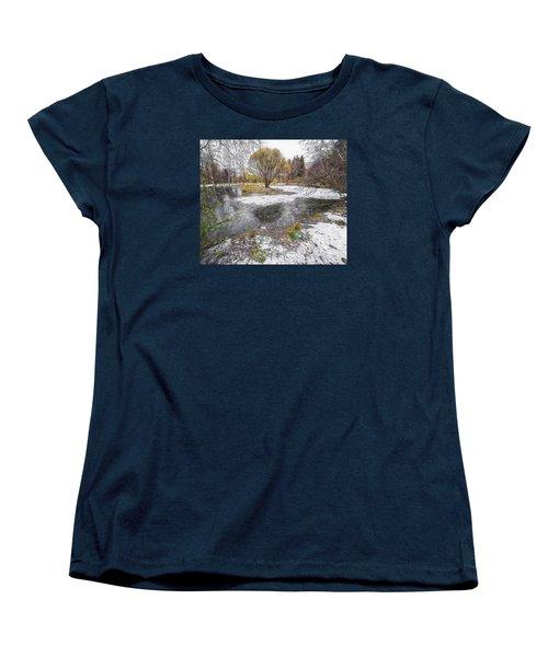 Women's T-Shirt (Standard Cut) featuring the photograph October 2 by Vladimir Kholostykh