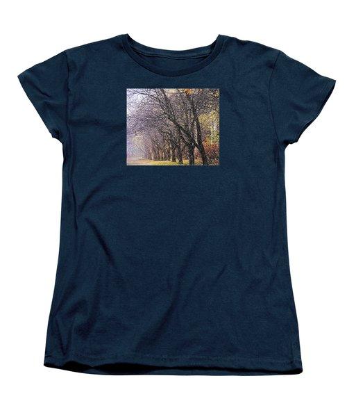 Women's T-Shirt (Standard Cut) featuring the photograph October 3 by Vladimir Kholostykh