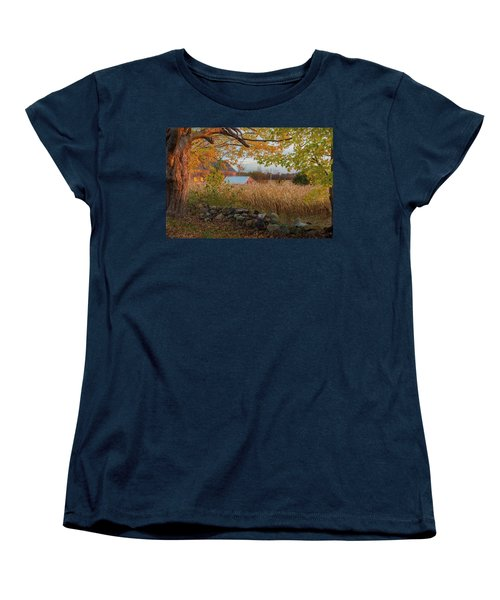 Women's T-Shirt (Standard Cut) featuring the photograph October Morning 2016 by Bill Wakeley