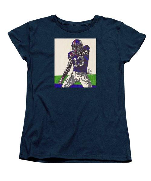 Odell Beckham Jr  Women's T-Shirt (Standard Cut) by Jeremiah Colley