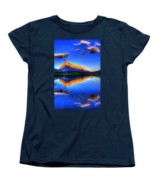 Women's T-Shirt (Standard Cut) featuring the photograph Of Geese And Gods by Scott Mahon