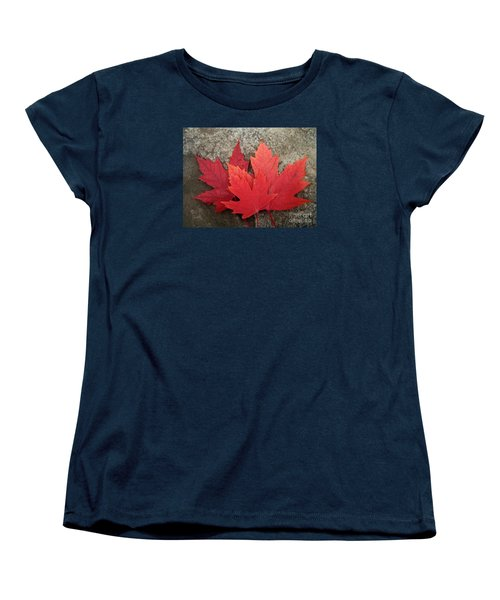 Oh Canada Women's T-Shirt (Standard Cut) by Reb Frost