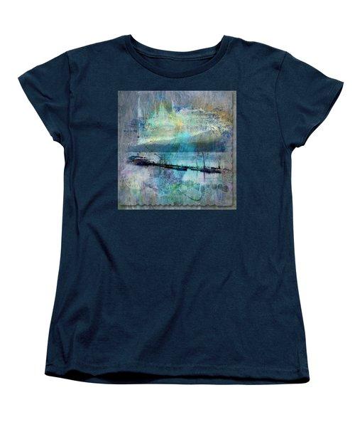 Ohio River Splatter Women's T-Shirt (Standard Cut) by Diana Boyd