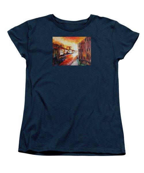 Oil Msc 013 Women's T-Shirt (Standard Cut) by Mario Sergio Calzi