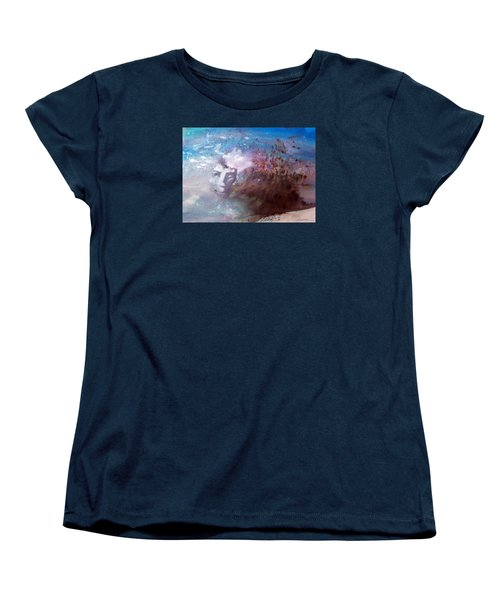 Okanokumo Women's T-Shirt (Standard Cut) by Ed  Heaton