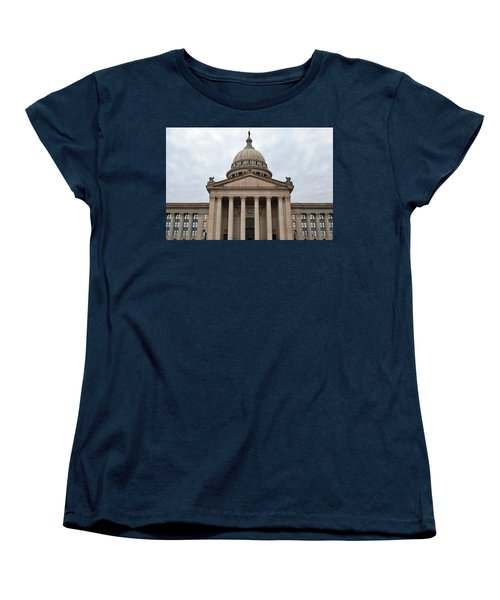 Oklahoma State Capitol - Front View Women's T-Shirt (Standard Cut)