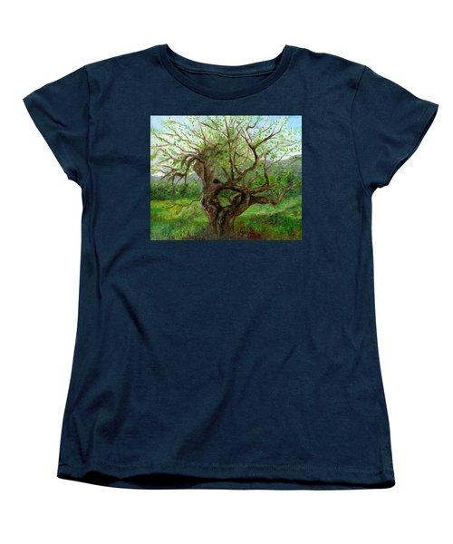 Old Apple Tree Women's T-Shirt (Standard Cut) by FT McKinstry