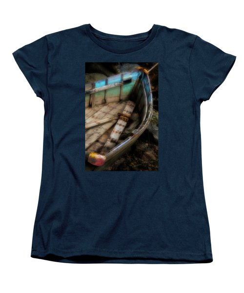 Old Boat 2 Stonington Maine Women's T-Shirt (Standard Cut)