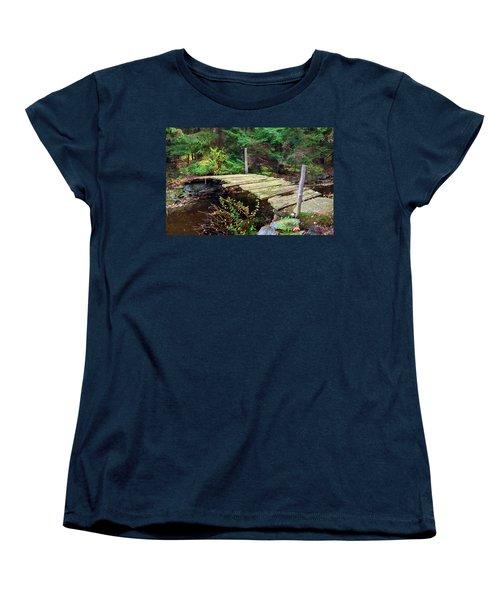 Old Bridge Women's T-Shirt (Standard Cut) by Francesa Miller