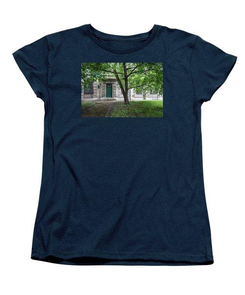 Old Building Exterior Women's T-Shirt (Standard Cut) by Teemu Tretjakov