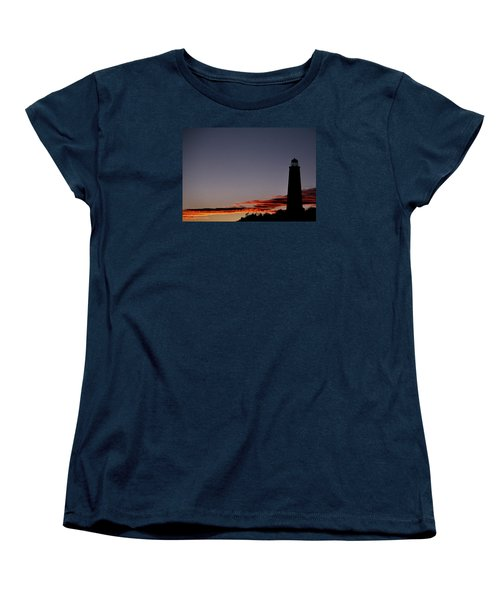 Old Cape Henry Sunrise Women's T-Shirt (Standard Cut) by Skip Willits