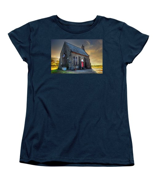 Old Church Women's T-Shirt (Standard Cut) by Charuhas Images