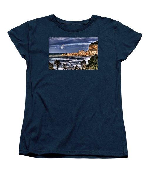 Old Coastal City  Women's T-Shirt (Standard Cut)