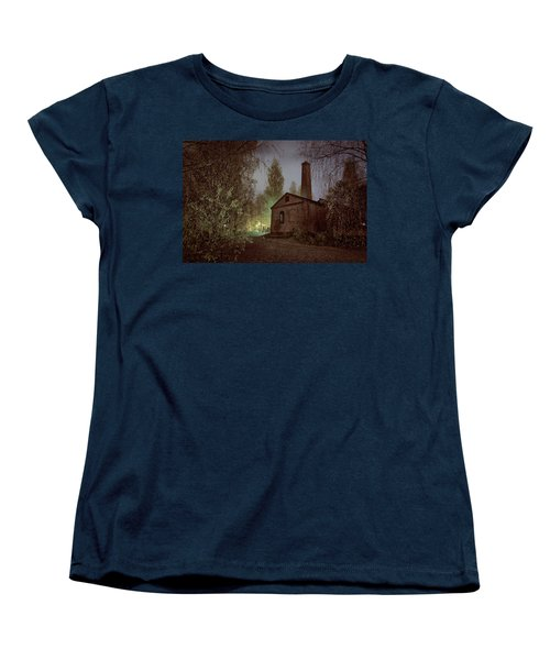 Old Factory Ruins Women's T-Shirt (Standard Cut) by Teemu Tretjakov