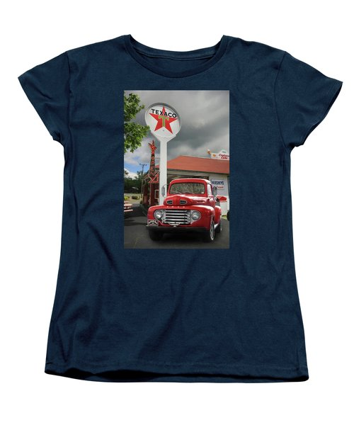 Women's T-Shirt (Standard Cut) featuring the photograph Old Guys Rule by Lori Deiter