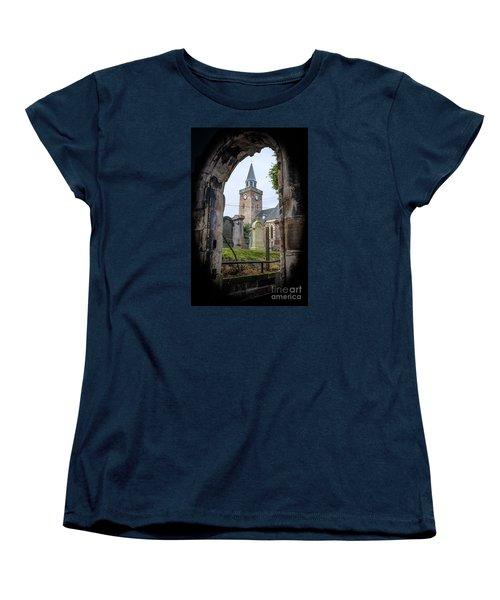 Old High St. Stephen's Church Women's T-Shirt (Standard Cut) by Amy Fearn