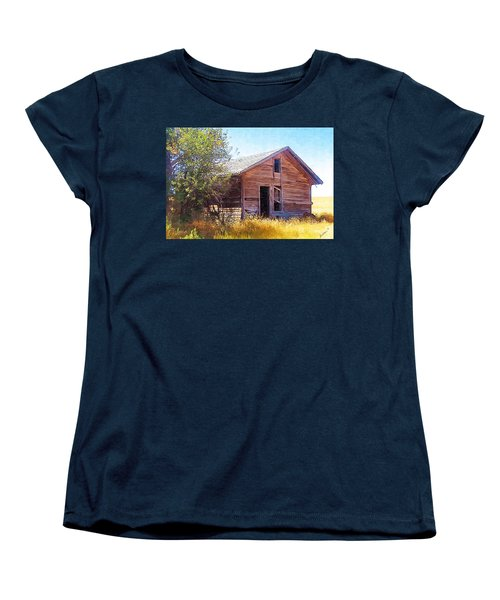 Women's T-Shirt (Standard Cut) featuring the photograph Old House by Susan Kinney