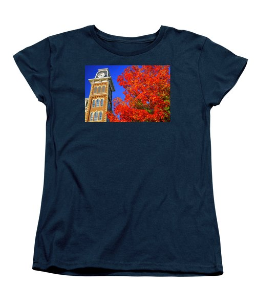 Old Main Maple Women's T-Shirt (Standard Cut) by Damon Shaw