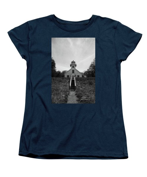 Old Mission Point Lighthouse Women's T-Shirt (Standard Cut)