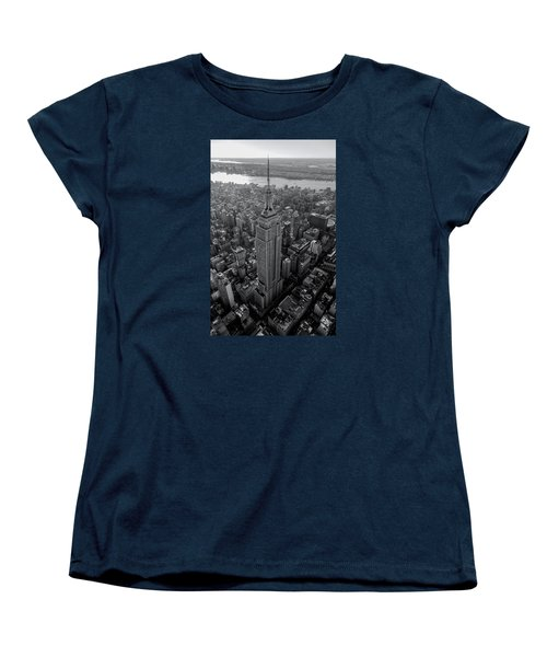 Old New New York  Women's T-Shirt (Standard Cut) by Anthony Fields