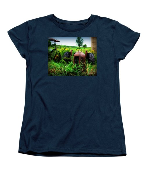 Old Oliver Women's T-Shirt (Standard Cut) by Perry Webster