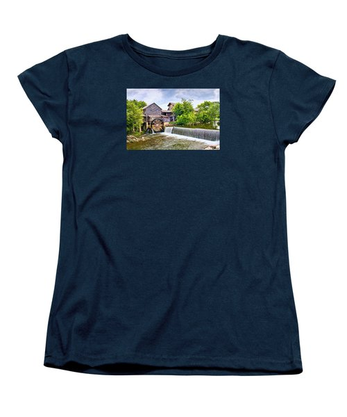 Old Pigeon Forge Mill Women's T-Shirt (Standard Cut) by Scott Hansen
