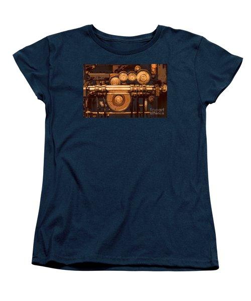 Old Printing Press Women's T-Shirt (Standard Cut)
