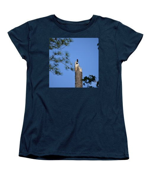 Women's T-Shirt (Standard Cut) featuring the photograph Old Red by Skip Willits