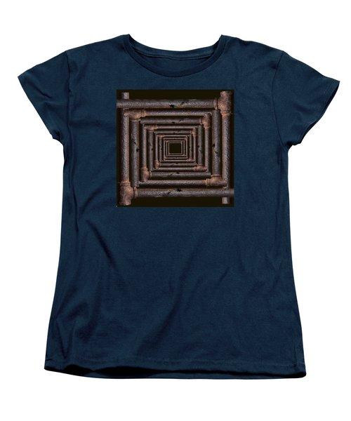 Old Rusty Pipes Women's T-Shirt (Standard Cut) by Viktor Savchenko