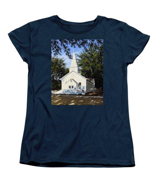 Old St. Andrew Church Women's T-Shirt (Standard Cut) by Rick McKinney