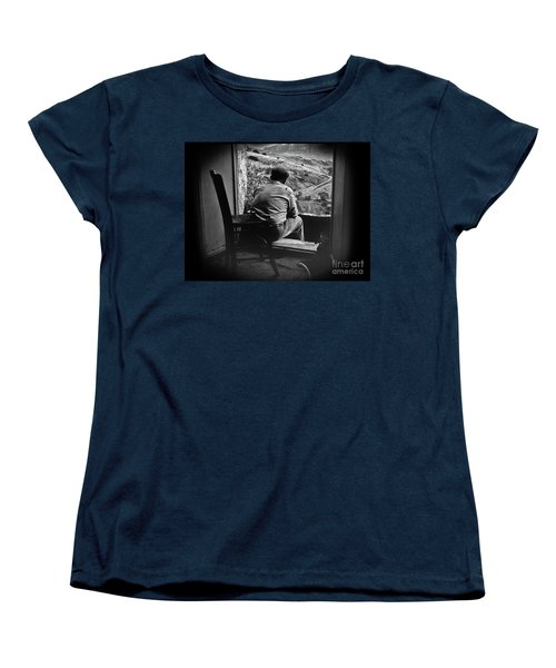 Old Thinking Women's T-Shirt (Standard Cut) by Bruno Spagnolo