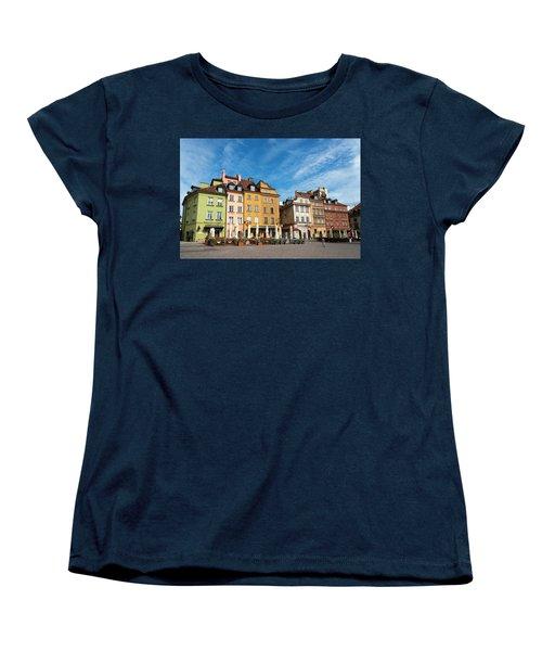 Old Town Warsaw Women's T-Shirt (Standard Cut) by Chevy Fleet