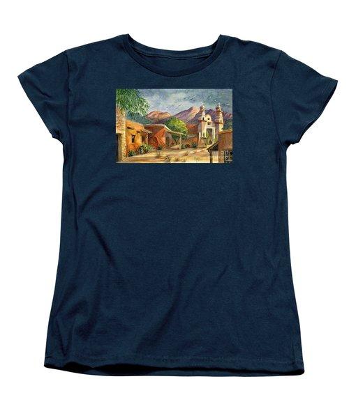 Old Tucson Women's T-Shirt (Standard Cut) by Marilyn Smith