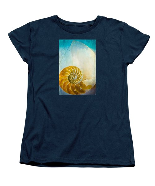Old World Treasures - Nautilus Women's T-Shirt (Standard Cut) by Colleen Kammerer
