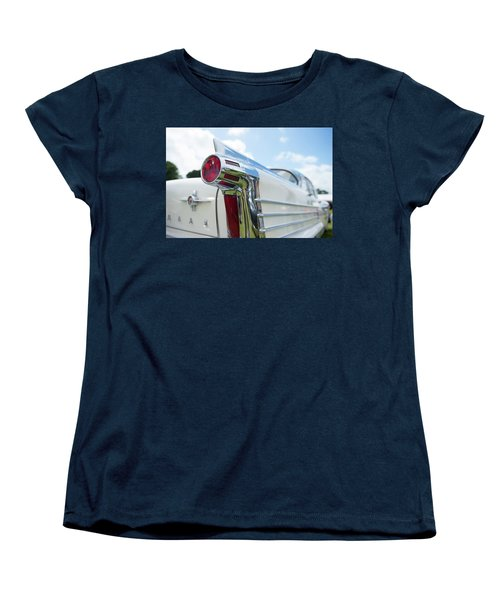 Oldsmobile Tail Women's T-Shirt (Standard Cut) by Helen Northcott
