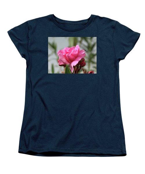Women's T-Shirt (Standard Cut) featuring the photograph Oleander Splendens Giganteum 2 by Wilhelm Hufnagl