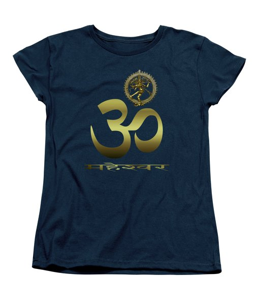 Om Shiva Women's T-Shirt (Standard Cut) by Robert G Kernodle