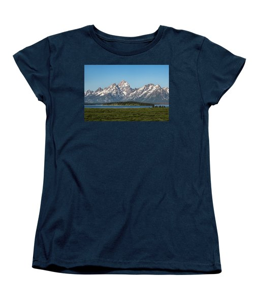 Women's T-Shirt (Standard Cut) featuring the photograph On A Clear Day by Jan Davies