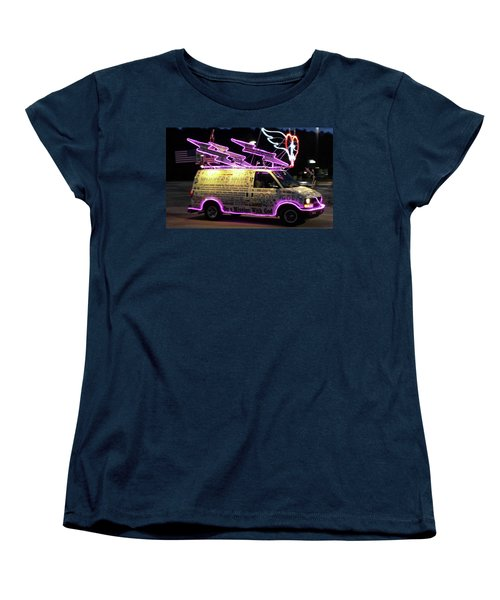 Women's T-Shirt (Standard Cut) featuring the photograph On A Mission With God by Suzanne Gaff
