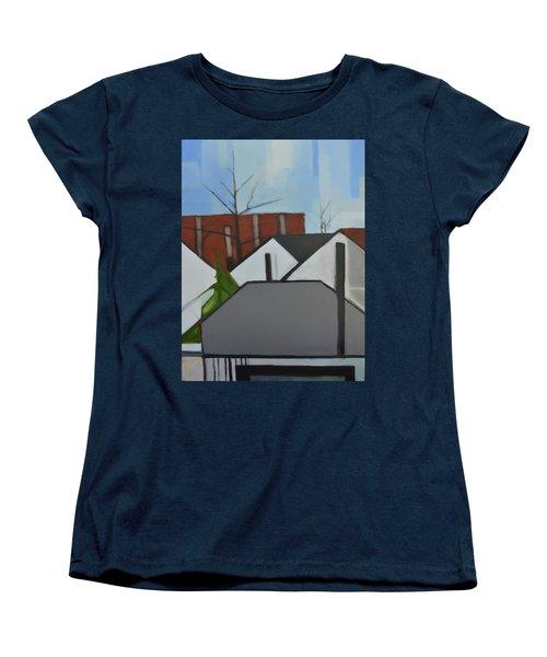 On Palisade Women's T-Shirt (Standard Cut) by Ron Erickson