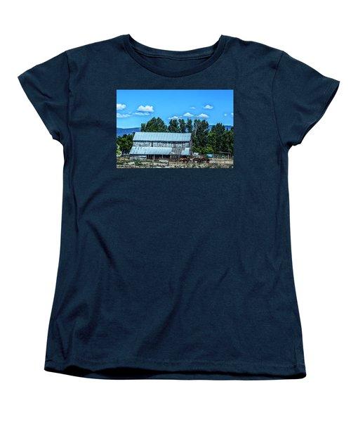 On The Farm Women's T-Shirt (Standard Cut) by Billie-Jo Miller