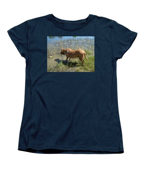 On The Hunt Women's T-Shirt (Standard Cut) by Val Oconnor
