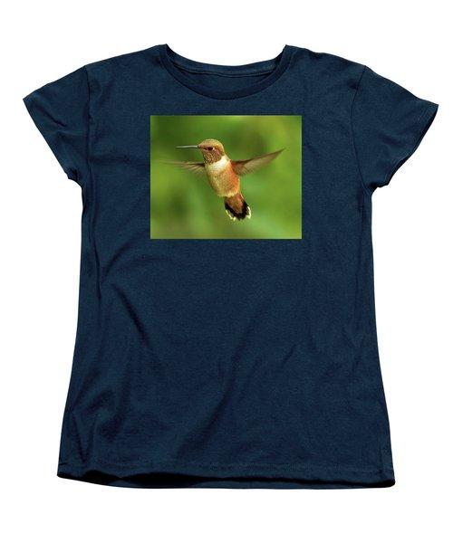 On The Lookout Women's T-Shirt (Standard Cut) by Sheldon Bilsker