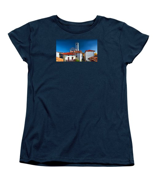 On The Tiles Women's T-Shirt (Standard Cut) by Graham Hawcroft pixsellpix