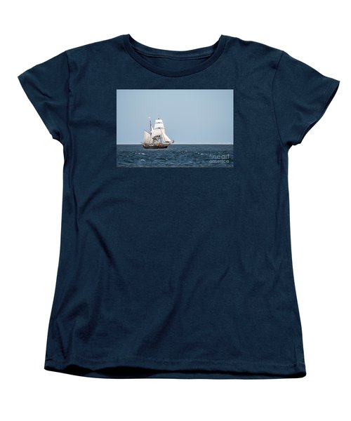 on the way to Texel Women's T-Shirt (Standard Cut) by Hannes Cmarits