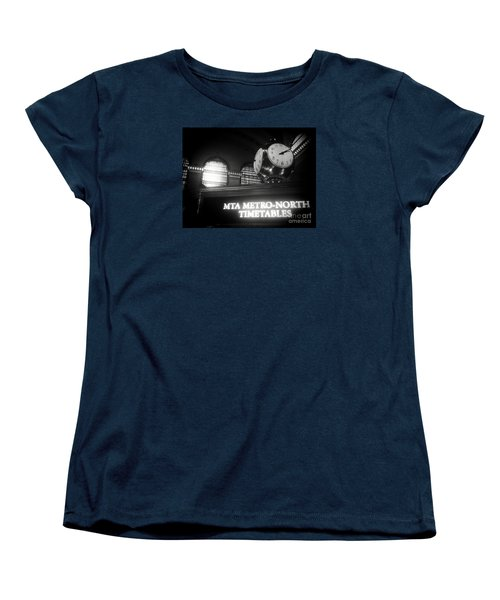 On Time At Grand Central Station Women's T-Shirt (Standard Cut) by James Aiken